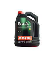 Масло моторное Motul Specific CNG/LPG 5W-40 5л