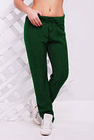 "Вязаные штаны ""Лилия"" (Зеленый)"