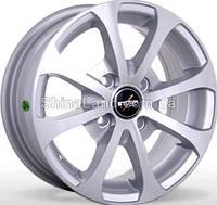 Литые диски Storm BK-264 SP 5.5x13/4x100 D67.1 ET35 (Silver Polished)