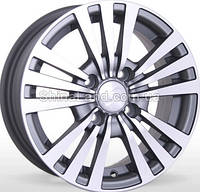 Литые диски Storm BK-170 MtGP 5.5x13/4x100 D67.1 ET35 (Matt Grey Polished)