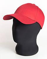 Бейсболка без логотипа красного цвета Inal