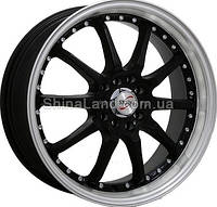 Литые диски Storm A-370 BLP 6.5x15/5x114.3 D73.1 ET40 (Black Lip Polished)