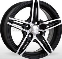 Литые диски Storm SM-890 MtBP 5.5x13/4x100 D67.1 ET35 (Matt Black Polished)