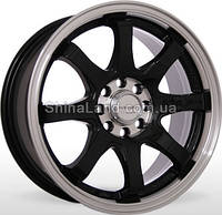 Литые диски Storm SM-3710 BLP 6.5x15/4x100/ D73.1 ET35 (Black Lip Polished)