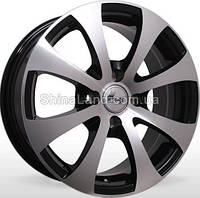 Литые диски Storm YQ-M262 BP 6.5x15/4x100 D67.1 ET38 (Black Polished)