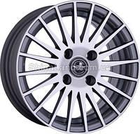 Литые диски Storm Vento-181 GP 5.5x13/4x100 D67.1 ET35 (Grey Polished)
