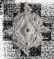 Розетка из гипса р-28  900х730