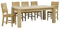 Стол деревяный  Хилтон   с креслами