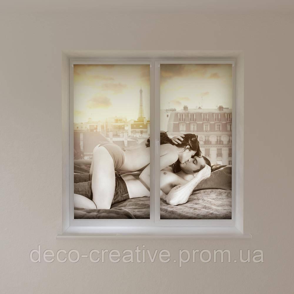 Рулонные шторы романтика
