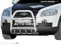 Защитная дуга переднего бампера Chevrolet Captiva I 2006-2012 (п.к. RR04)