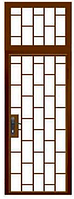 Двери тамбурные одностворчатые с фрамугой