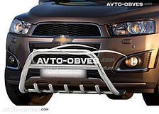 "Кенгурин ""Грифон"" для Chevrolet Captiva II FL 2012-2018 (без лого/ с лого ""Chevrolet"")"