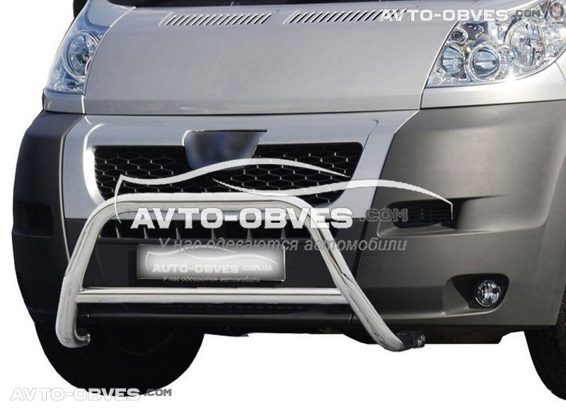 Передняя защита для Citroen Jumper 2006-2014 п.к. RR006
