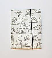 Визитница на 40 визиток (экокожа, ручная работа)