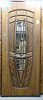 Двері вхідні броньовані з ковкою