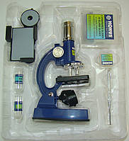 Детский микроскоп KonuStudy-4 (100-900 крат, адаптер для смартфона)
