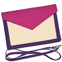 Красочный Клатч конверт на лето.