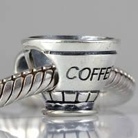PANDORA шарм Кофе, S 925 ALE