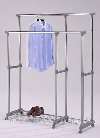 Стойка для одежды мобильная передвижная телескопическая  CH-4566, фото 2