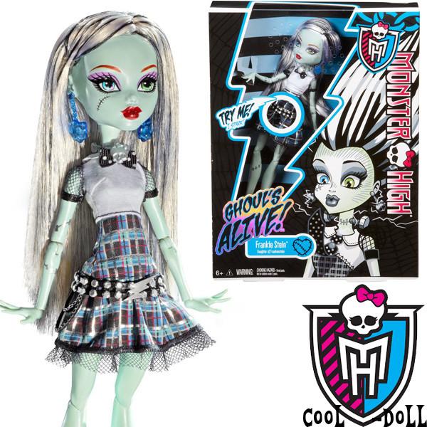 Кукла Монстер Хай Фрэнки Штейн Она живая Monster High Frankie Stein It´s Alive Френки