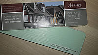 Канадский сайдинг Mitten MINT GREEN 3,68 х 0,23 м (Міттен Миттен Зелений), фото 1