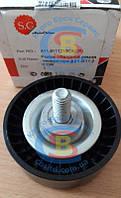 Ролик обводной ремня генератора Acteco A11-8111210CA Chery T11 Tiggo (Оригинал)