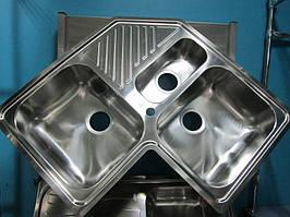Мийка кутова з нержавіючої сталі Smeg SP3A