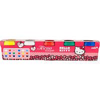 Цветное тесто для лепки kite hk17-152 5*75г hello kitty