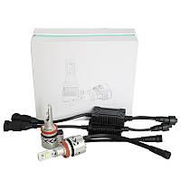 Комплект автомобильных ламп в головной свет, SLP G8L, Цоколь НB4, 9006, P22d, 36W, 6000 Люмен в линзу
