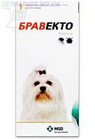 Бравекто 112,5 мг Жевательная таблетка для защиты от клещей и блох собак 2 -4,5 кг, 1 табл. Интервет