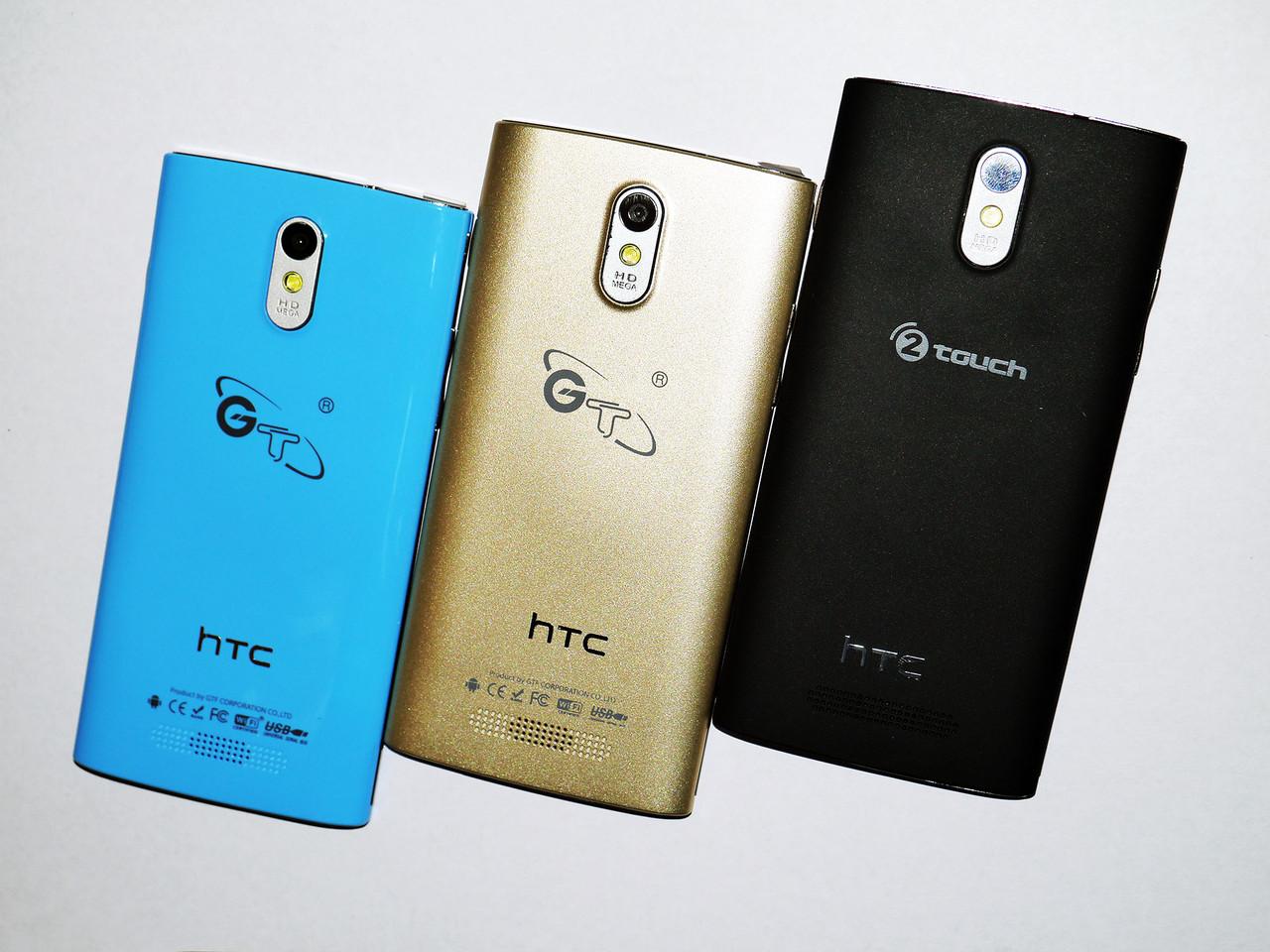 "HTC GT-M7 экран 4.5"" 4 ядра, WiFi, 2 sim, Android 4.2.2, камера 2MP"