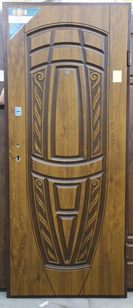 Двері вхідні з патиною