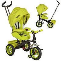 Детский трехколесный велосипед Turbotrike (M 3195-2A) с родительской ручкой