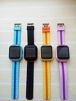 Детские Smart часы Q100S (Оригинал) 4 цвета!