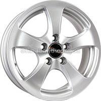 Литые диски TechLine TL403 S 5.5x14/5x100 D57.1 ET35 (Silver)