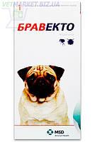 Бравекто 250 мг Жевательная таблетка для защиты от клещей и блох собак 4,5 -10 кг, 1 табл., Интервет