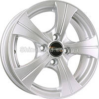 Литые диски TechLine TL410 S 5.5x14/4x100 D60.1 ET43 (Silver)