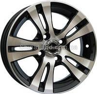 Литые диски TechLine TL422 BD 5.5x14/4x100 D67.1 ET32 (Black Diamond)
