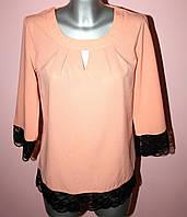 Блузка женская с гипюром