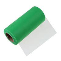 Фатин Зеленый Сетка 15 cм 1 метр