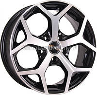 Литые диски TechLine TL632 BD 6.5x16/5x108 D63.4 ET52.5 (Black Diamond)