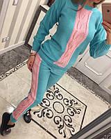 Красивый вязанный костюм .  Костюм женский теплый. Женская одежда. Интернет - магазин женской одежды.