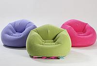 Велюровое кресло Intex 68569