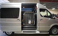 Переоборудование автомобилей для перевозки инвалидов колясочников