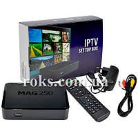 Мультимедийная приставка IPTV  MAG 250