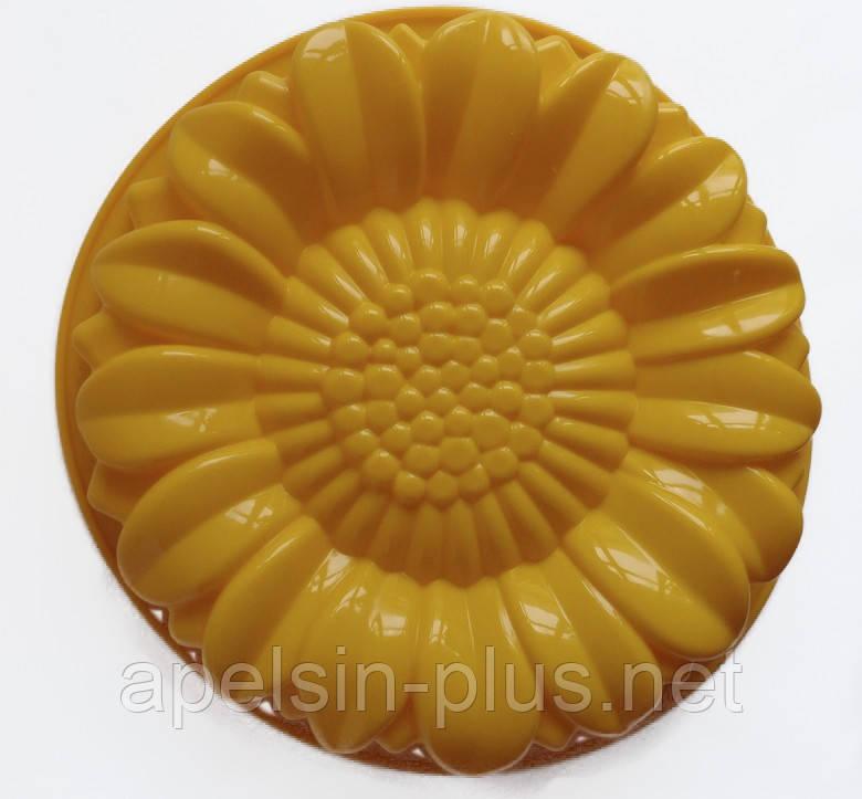 Силиконовая форма для выпечки и десертов Гербера 28,5 см