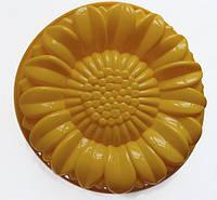 """Силиконовая форма для пирога """"Гербера"""" 28,5 см"""