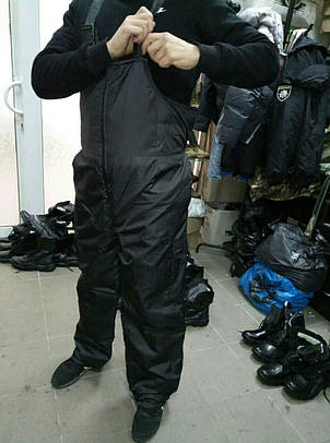 Зимний костюм Титан (Охрана) Люкс