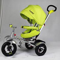 Детский трехколесный велосипед Turbotrike САЛАТОВЫЙ (M 3196-2A)