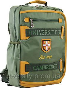 Ранец подростковый CA 076, зеленый, 29*43*12